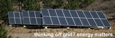For all your off grid solar power needs