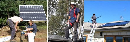 Accredited off grid installation experts