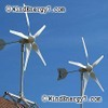 RoofMill™ HO-2.8kW (High Output) 2 Rooftop Turbine Wind/Solar, Grid-Tie Complete Kit